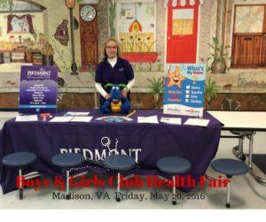 Boys & Girls Club Health FairMadison, VA